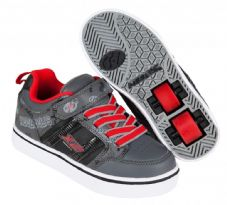 Heelys X2 Bolt Black/Grey/Red